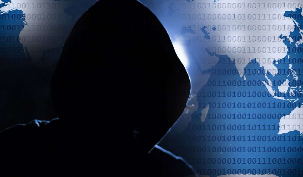 hooded cyber criminal